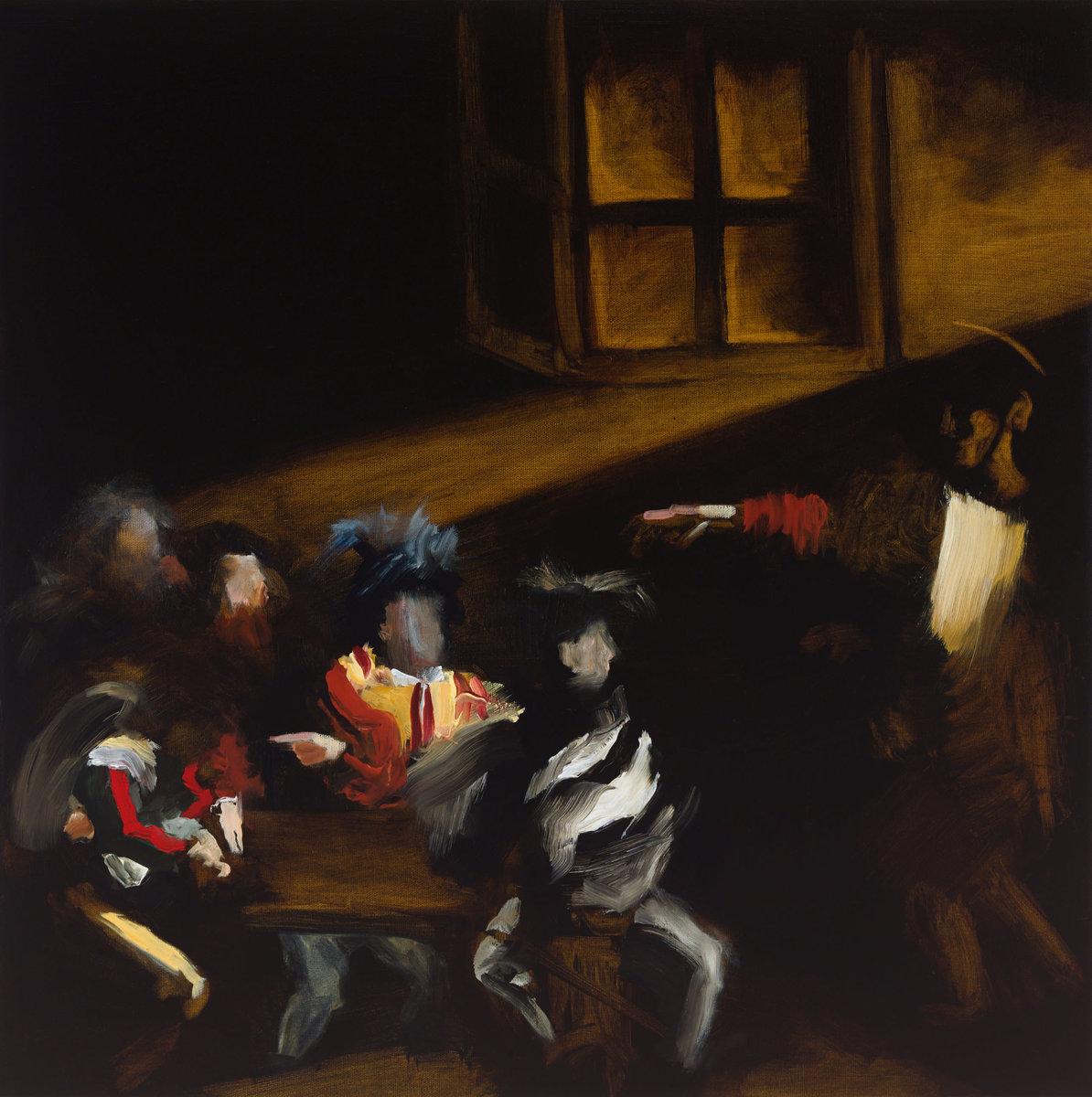 Calling V (after Caravaggio)