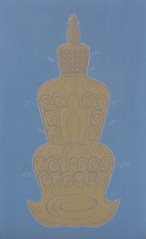 Tibetan Stupa Hairdo