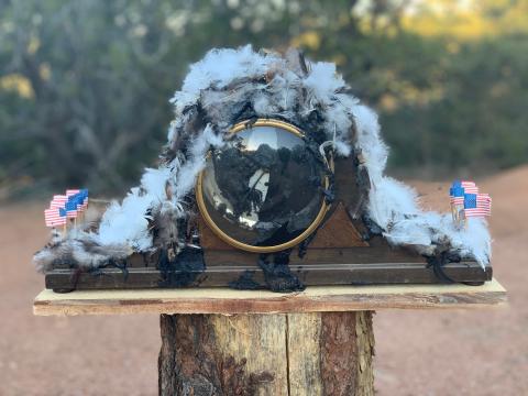 John Wayne's Clock Tar'd and Feather'd