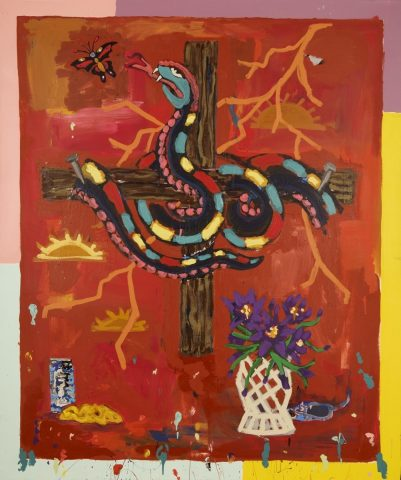 Crucified Snake with Four Loko and Frybread